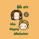 We are the frigging Winchesters by hellredsky