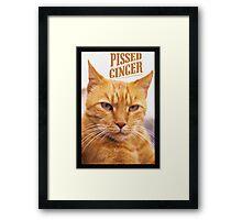 Pissed Ginger Framed Print