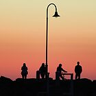 Sunset on St Kilda Pier by nicomelbourne