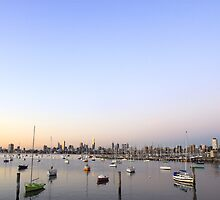 St Kilda marina by nicomelbourne