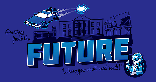 Greetings from the Future! by Punksthetic