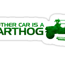 My Other Car Is A Warthog Sticker