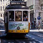 Tram, Lisbon - Portugal by RichardPhoto