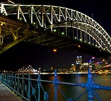 Sydney from Kirribilli - Quiet Sunday evening 5 May 2013 by DavoSp8
