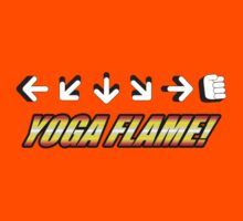 Yoga Flame by GeekGamer