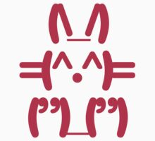 Ascii Bunny by rabbitbunnies