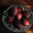 Red Paschal Eggs© by walela