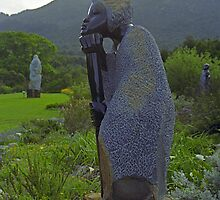Kirstenbosch Gardens, Capetown, South Africa by Bev Pascoe