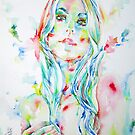 WATERCOLOR WOMAN.1 by lautir