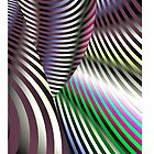 Lines, Lines, Everywhere Lines (iPhone/iPod Case) by Robin King