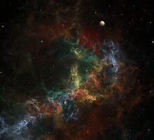 Nebulae 130503-1 by Anne Pearson