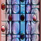 Opalescent Ovals (iPhone/iPod Case) by Robin King