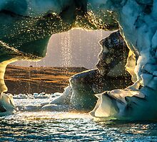 Melting Iceberg. by RonniHauks