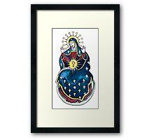 Hail Mary! Framed Print