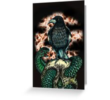 Lonely Crow Greeting Card