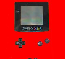 Red Gameboy Colour by Sir Slay Design