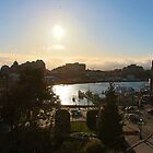 The Inner Harbour at Sunset by islandphotoguy