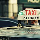 Taxi Parisien by Caroline Fournier