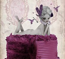 Let Them Eat Cake - Marie Antoinette by Tanya  Mayers