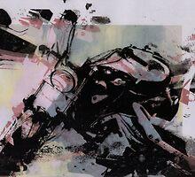 motorbike print by return-hangar