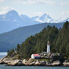 Alaskan Lighthouse by TheDorkKnight