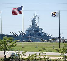 Battleship U.S.S. Alabama..... by zpawpaw