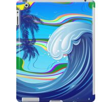 Sea Ocean big Wave Water  iPad Case/Skin