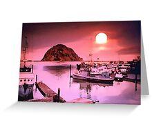 Harbor Hues Greeting Card