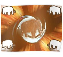 Wooly Mammoth Whirlwind Poster