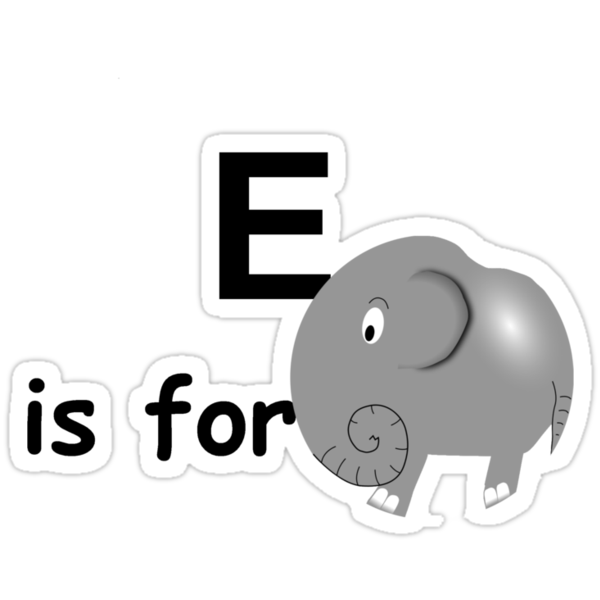 E is for ... by Hallo Wildfang