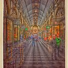Royal Arcade Melbourne by Keith G. Hawley