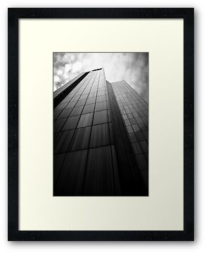 City Tower Black & White. by Nick Egglington