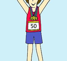 50th marathon by KateTaylor