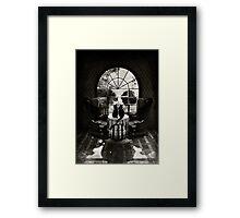 Room Skull Framed Print