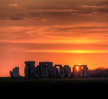Stonehenge Sunset by Simon West