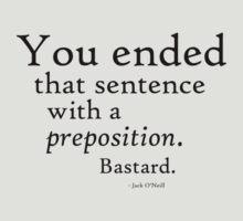 Preposition Black by CaelisMiran