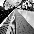 Charing Cross - Waiting for the Bakerloo by rsangsterkelly
