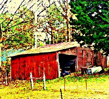 Tired Old Barn by Lisa Taylor