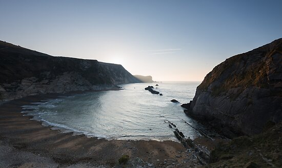 First light on Man of Way Bay by mattcattell