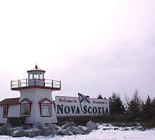 Welcome to Nova Scotia by Annlynn Ward