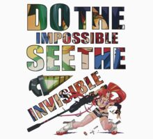 Do The Impossible, See The Invisible - Yoko by Cassie Hannum