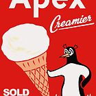 Apex Ice Cream Penguin Poster by Darian  Zam