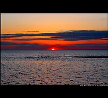 Long Island Sound Sunset - Stony Brook, New York by © Sophie W. Smith