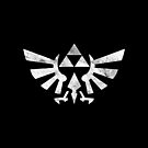 Silver Triforce - iPad Case by Nasarov