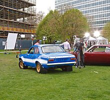 The Cars From Fast And Furious 6 in London by Keith Larby