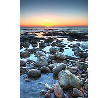 Sunrise over Winchelsea Beach Photographic Print