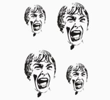 Psycho Scream Stickers by ilmagatPSCS2