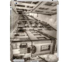 Backstreets Of Lisbon Sepia iPad Case/Skin