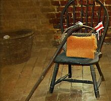 Chair - Slave Quarters, Mount Vernon, VA by Bine
