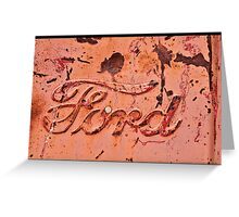 Ford Country Greeting Card